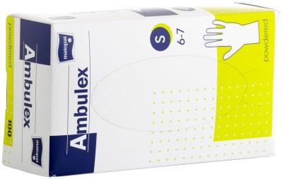 Ambulex latex s 6-7 - gumikesztyű